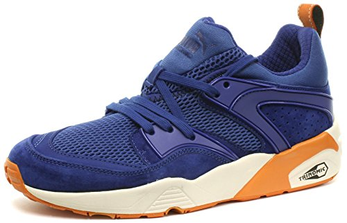 Baskets PUMA Blaze of Glory New york Yankees Mazarine Blue