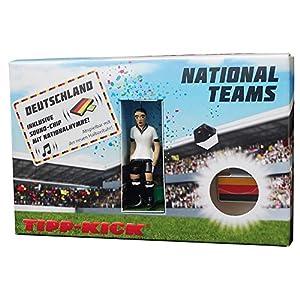 Edwin Mieg OHG MIE03106 – Copa del Mundo de 2014 Star-Kicker Alemania en Torwandbox con Anthem, Juego de Mesa