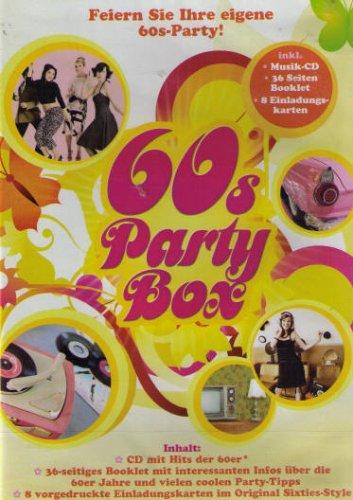 60s Party Box (inkl. Musik-CD, 36 Seiten Booklet, 8 Einladungskarten)