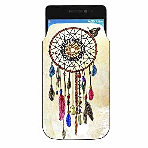 LYF Wind 3 Printed Pu Leather Pouch By Youberry