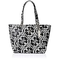 GUESS Womens Tote Bag, Black - HG669123