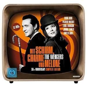 Mit Schirm, Charme und Melone - 50th Anniversary Complete Edition (53 Discs)