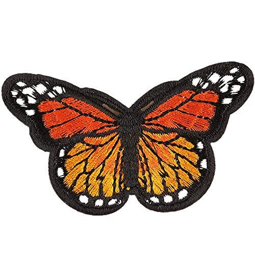 Für Erwachsenen Kostüm Jacke Militärische - Obctk Schmetterling bügeln Patch nähen Stickerei Tuch Patch, DIY Geschenk Tuch Abzeichen Applique kostüm Rucksack Hut Jeans Abzeichen Patch, Erwachsene Kinder Geschenke