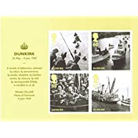 2010 Bretagna Alone Dunkirk Miniature Sheet-72-Royal Mail-Francobolli