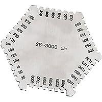 Homyl Précision Film Humide Hexagonale 25-3000um Protecteur Jauges Épaisseur Remplacement