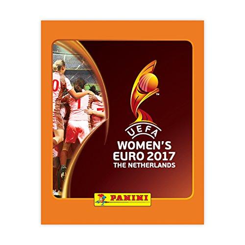 Damen Euro 2017euro17st UEFA Aufkleber Kollektion (50Stück)