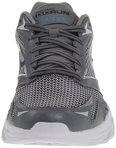 Skechers GO RUN VORTEX, baskets sportives homme Gris (Gris/Bleu)
