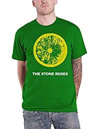 Stone Roses The T Shirt Lemon Band Logo Nue Offiziell Herren