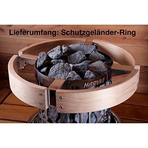 Harvia Cilindro Schutzgeländer HPC3 Holzgeländer Zubehör für Saunaofen