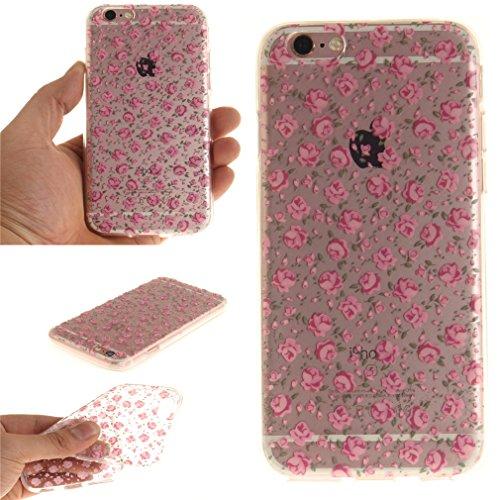 A9H iPhone 6/6S 4.7 Hülle mit Kameraschutz transparent dünne Schutzhülle Case Cover für iPhone 6/6S aus flexiblem TPU -27HUA 11HUA