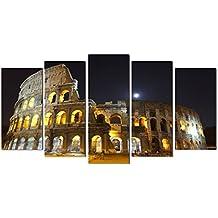 DekoArte 13 - Cuadro moderno, Coliseo Romano, 150 x 80 cm
