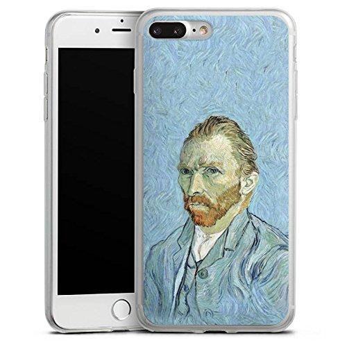 Apple iPhone SE Slim Case Silikon Hülle Schutzhülle Vincent van Gogh Selbstportrait Kunst Silikon Slim Case transparent