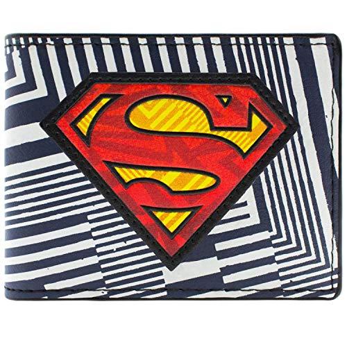 DC Comics Superman Gestreift Mehrfarbig Portemonnaie Geldbörse