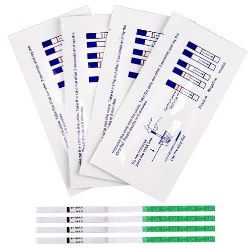 Ecloud Shop 60 Predictor d'ovulation + 30 bandes de test de grossesse précoce