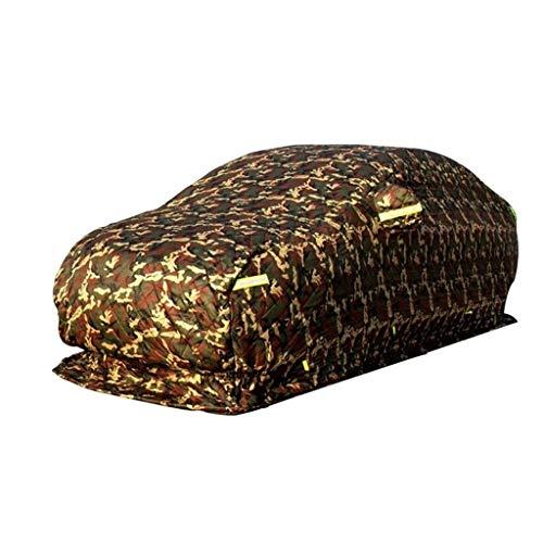 YCAR Auto-Schutz-Abdeckung for Seat Leon Fließheck Schnee- Anti-Frost Custom Fit Car Cover Winddichtes Staubdichtes Universal-Schwerkratzfestes Full Exterior Covers (Color : Camouflage, Size : 2012)