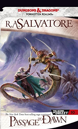 Passage to Dawn: The Legend of Drizzt, Book X