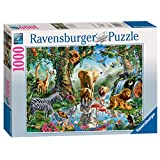 Ravensburger 198375 Puzzel Avonturen In De Jungle - Legpuzzel - 1000 Stukjes