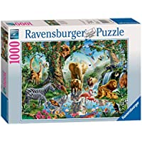 Ravensburger Puzzle 19837 - Abenteuer im Dschungel - 1000 Teile