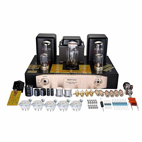 Nobsound® EL34 Valve Tube Amplifier Class A Single-Ended Power amp HiFi Stereo 2.0 Channel Röhrenverstärker Audiophile Verstärker-Bausatz DIY Kit 12W+12W
