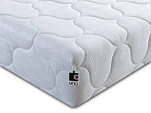 UNO Pocket 1000 Deluxe 3FT Single Mattress