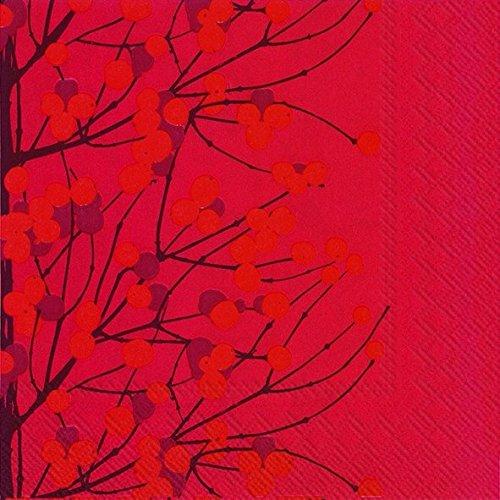lumimarja-red-berry-branches-marimekko-finnish-dinner-napkins-pack-of-20-christmas-napkins-dinner-si