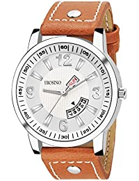 Frosino FRAC061813 Analog Frosting Date & Day Function White dial Casual Watch for Men