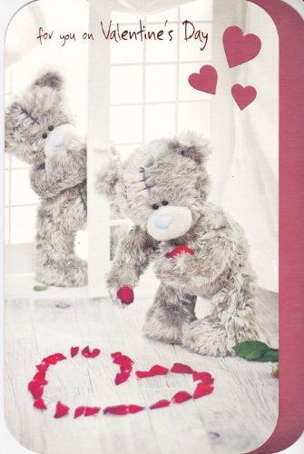 Tarjeta felicitación de San Valentín - Papá Oso.