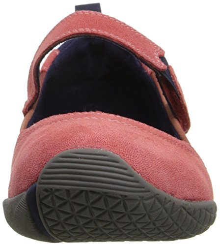 Hush Puppies Womens Adia Zelder Leather Flat Cranberry