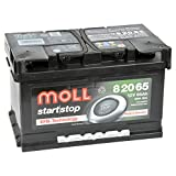MOLL start|stop EFB 12V 65Ah 82065 Autobatterie