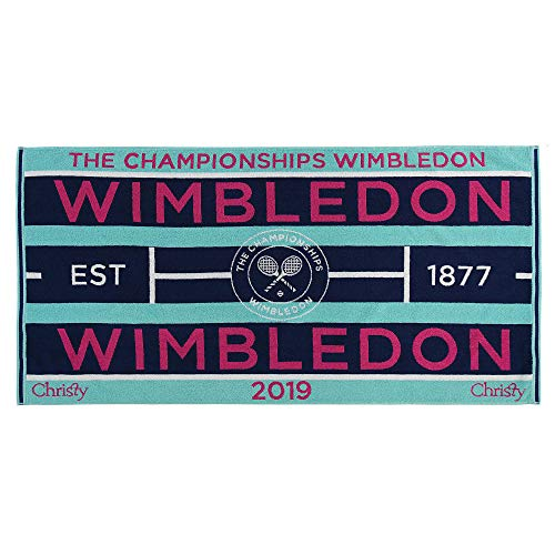 Wimbledon Lady Tennis Towel 201 von Christy