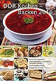 Wochenkalender - DDR Kochen / Backen 2016