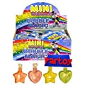 12 MINI TOUCHABLE BUBBLE PACKS