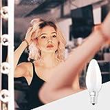 OSRAM Star+ Ampoule LED à Filament Haute Définition des Couleurs | Culot E14 | Forme Flamme | Blanc Chaud 2700K | 5W (équivalent 40W)