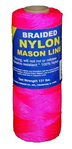 T.w. Evans Cordage 12–515 variété tressé en nylon Mason, 500-feet, Rose