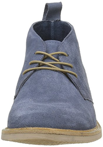 Kickers Damen Tyl Schuhe mit Schnürung Blau (Marineblau)