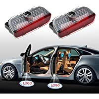 EOVVIO 2 Stück Autotür LED Logo Türbeleuchtung Einstiegsleuchte Projektor Licht