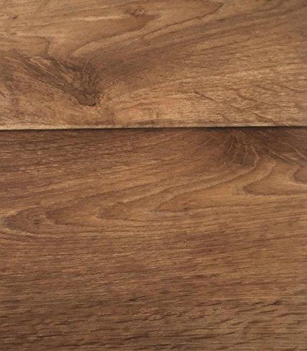 PVC Vinyl-Bodenbelag in Holz Optik Birne | CV PVC-Belag verfügbar in der Breite 200 cm & Länge 800 cm | CV-Boden wird in benötigter Größe als Meterware geliefert & trittschalldämmend -