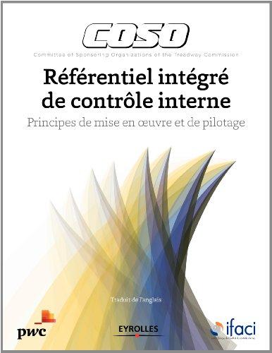 Coso : Référentiel intégré de contrôle interne, Principes de mise en oeuvre et de pilotage