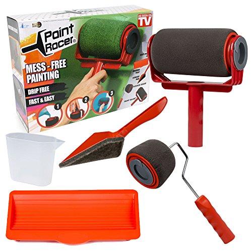 Paint racer rullo per pittura con serbatoio integrato con accessori