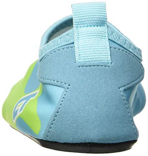 SITAILE Aquaschuhe Barfuß Schuhe Schwimmschuhe Badeschuhe Wasserschuhe Surfschuhe Sportschuhe für Kinder HellBlau EU 26-27