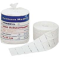 Holthaus Medical Zellstofftupfer YPSIZELL, Tupfer Zelletten Pads Rollen, 4x5cm, 2x 500St preisvergleich bei billige-tabletten.eu