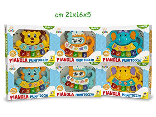 Teorema Gogo - Pianole Animali Musicali 3 Ass - Window Box Merchandising -