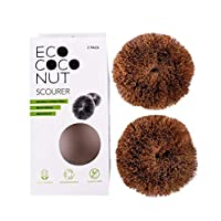 Eco Coconut Eco-Friendly, Multi-Purpose Scourers, Pack of 2 4