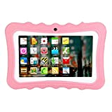Fulltime E-Gadget 7 Zoll 1G + 8G 1024 * 600 Tablet Android A33 Auflösung Tablet Android Quad-Core Wireless Foto Learning Home Lehre Studenten Tablet-PC (Rosa)