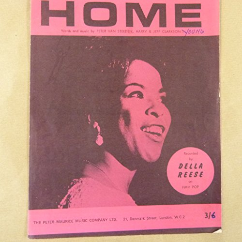 song-sheet-home-della-reese