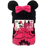 Best Organic Stores Friend Womens Shirts - Disney 100% Cotton Hooded Towel for Kids, Minnie Review