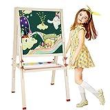 CL& Kinder-Zeichenbrett - doppelseitig magnetisch kleine Wandtafel für Baby-Wandbemalung - Zwei Größen optional Staffeleien (größe : 80-148cm)