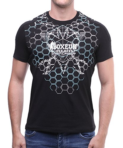 BOXEUR DES RUES Herren T-Shirt Nero (Nero)