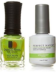 Lechat Duo Vernis à ongles, menthe verte