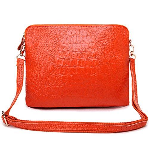 Eysee, Poschette giorno donna Rosso rosso 25cm*20cm*1cm arancione